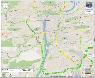 Google Maps Live traffic