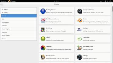 GNOME Software v distribuci Fedora 20