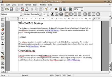 OpenOffice.org 1.1.2