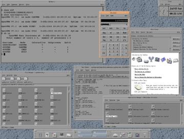 OpenVMS, nástupce někdejšího VAX/VMS se dodnes používá například na některých systémech Hewlett Packard s procesory Itanium.