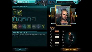 Shadowrun Returns - obrázky ze hry