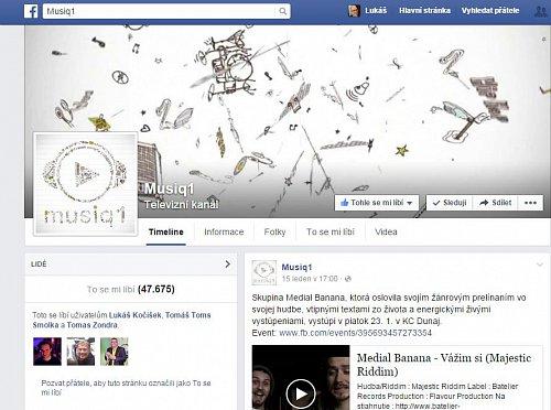 """Počet fanoušků musiq1 na Facebooku se blížil k 50 tisícům, ale většina z nich byly takzvané """"mrtvé duše"""". Odezva na profilu byla v reálu minimální."""