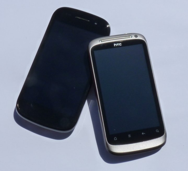 Nexus S vs. Desire S