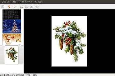 Softwarovásklizeň (24.12.2013) - screenshoty k článku.