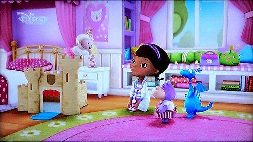 Ukázka z vysílání nekódované německé verze stanice Disney Channel