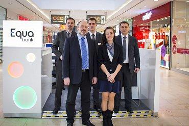 Pobočka Equa bank v OC Arkády Pankrác
