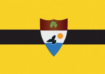 Vlajka nového státu Liberland
