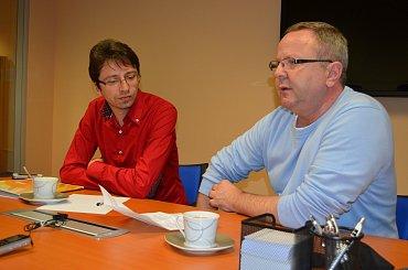 Zprava: Petr Jánský, předseda představenstva, Daniel Tureček, člen představenstva Metropolitního spořitelního družstva