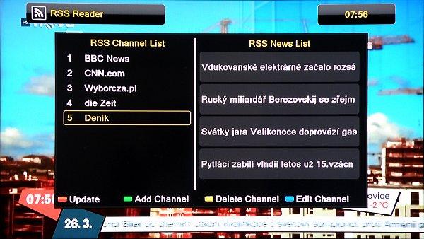 RSS čtečka