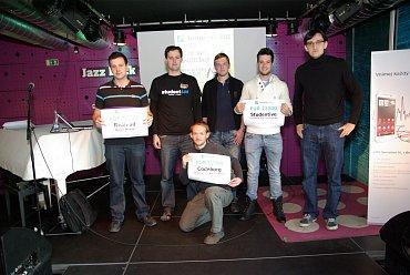 Tři týmy postupující do další fáze soutěže Startup roku