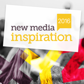 Logo New Media Inspiration 2016