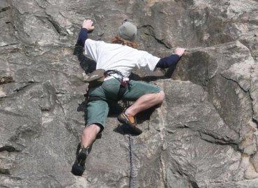 Lezení, horolezec, skály