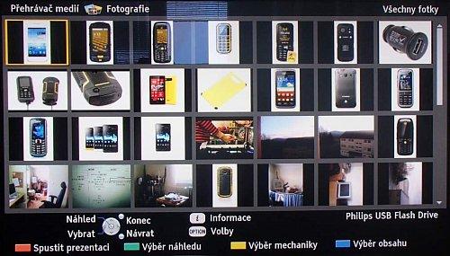 """Souborový manažer měl v roce 2012 u Panasoniku problémy s adresářovým výpisem. Takto například vypadá """"adresářový výpis"""" z 16GB flash paměti u fotografií a jak vidíte, jde o prostý seznam. Snímky jsou ve skutečnosti na """"flašce"""" roztříděny do mnoha adresářů."""