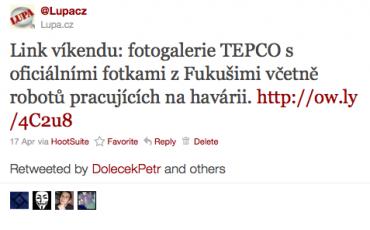 Zajímavý obsah a informace si na Twitteru lidé rádi sdílejí, retweetují.