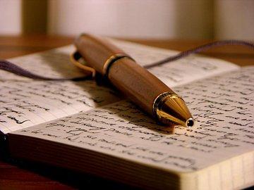 opisování, psát, tužka, pero