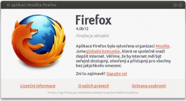 Firefox 4.0 beta 12