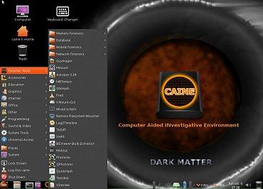 CAINE 6.0, Dark Matter, menu