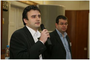 Ján Simkanič a Petr Koubský