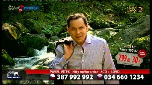 Ukázka z vysílání Šlágr TV/Musibox v satelitní službě Digi TV