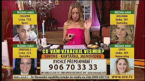 Ukázka z vysílání stanice Active TV