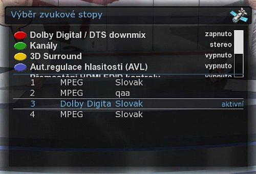 Přehled aktuálně vysílaných jazykových stop na kanálech RTVS v SD i HD kvalitě