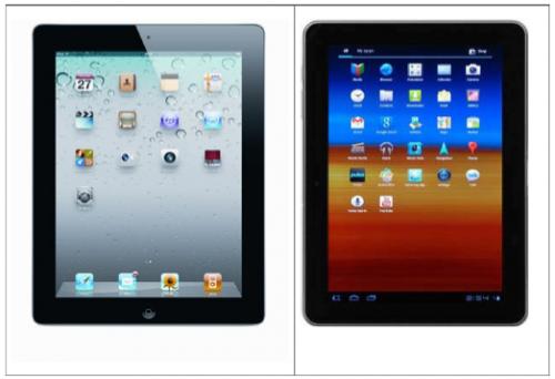 iPad 2 a Galaxy Tab 10.1: Jak moc stejně vypadají?