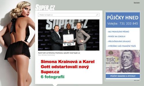 Super.cz je tabloid ve webovém provedení?