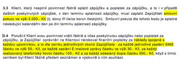 Společnost creditON.cz, s.r.o. - rychlá půjčka a podmímky