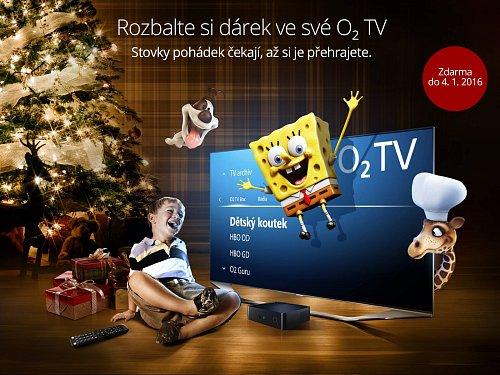 O2 propaguje svou novou nabídku na sociálních sítích již od 10. prosince