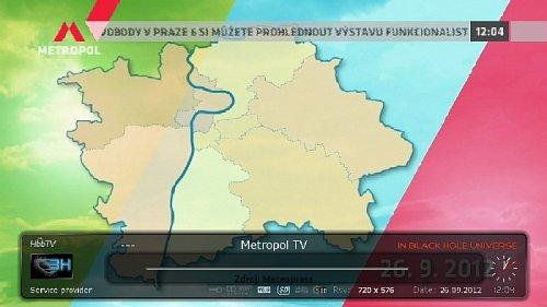 V novém Regionálním multiplexu 4 už se objevila TV Metropol.