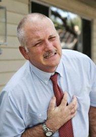 tachykardie, srdeční slabost, infarkt