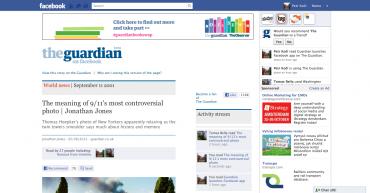 Facebooková aplikace Guardianu