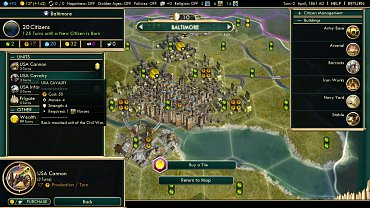 Sid Meier's Civilization V - obrázky ze hry.