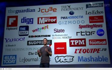Mark Zuckerberg a jeho obsahoví partneři