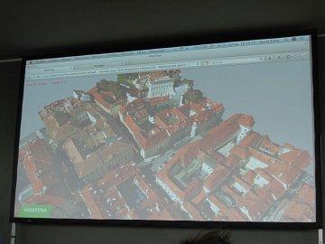 3D mapy by letos měly být k dispozici pro 180 tuzemských měst. Na snímku je Malostranské náměstí v Praze.