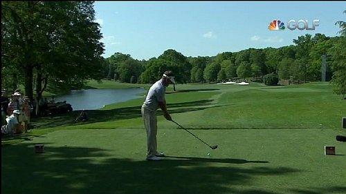 Ukázka z vysílání stanice Golf Channel