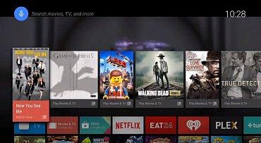 Rozhraní Android TV připomíná nový webOS
