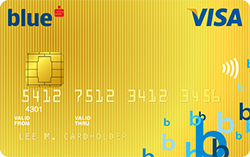 Debetní karta Visa pro klienty segmentu Blue