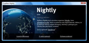 Firefox 6.0a1 Nightly
