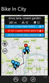 BikeInCity: mobilní aplikace vám najde i trasu