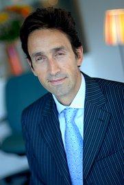 Franck du Plessix, generální ředitel a předseda představenstva Investiční kapitálové společnosti Komerční banky. (10/2015)