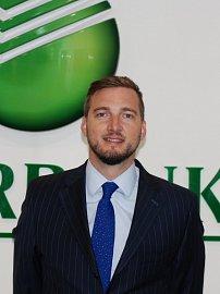 Petr Vodenka, specialista na strukturované financování ve Sberbank.