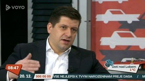O spuštění nového kanálu se ve Snídaní s Novou rozpovídal generální ředitel Jan Andruško
