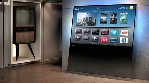 Zasazení televizoru Philips DesignLine do prostoru