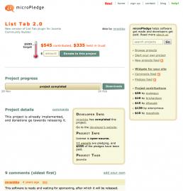 Micropledge.com: přispějte na vývoj pluginu pro Jomlu