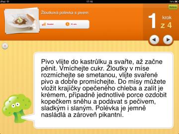 Mezi dvaceti tisíci uživatelskými recepty se v aplikaci Recepty.cz najde i žloutková polévka s pivem.