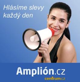 Amplión - nový slevový server Centrum Holdings.