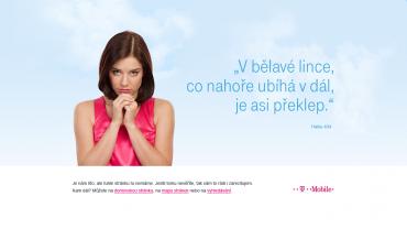 Nový web T-Mobile, chyba 404