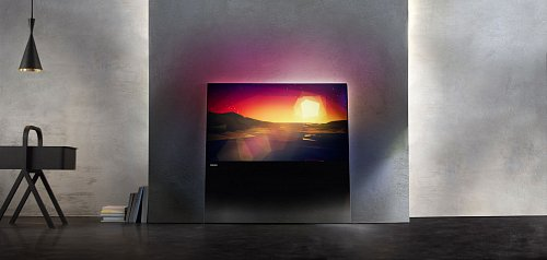 Možné umístění nového televizoru Philips do prostoru