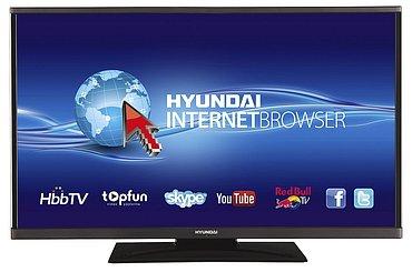 Jednoduchý, levný design, ale materiály levně nepůsobí a tenounký rámeček vlevo a vpravo televizoru vysloveně sluší.